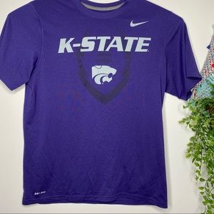 Nike dri-fit K-State men's t-shirt L